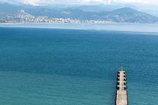 Free Pier Into The Sea Stock Photo - 18063080