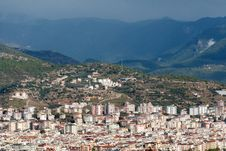 View Of The City Alanya Stock Photos