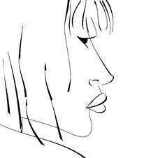 Free Sketch Of Woman Stock Photos - 18063393
