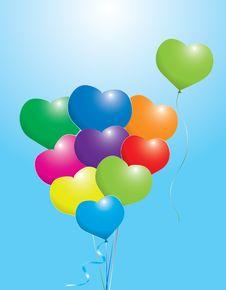 Free Colorful Balloons Stock Photos - 18063623