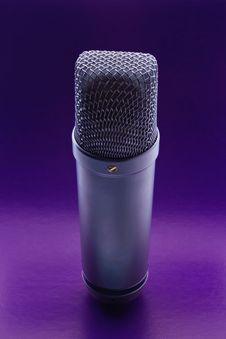 Free Studio Microphone Stock Photography - 18069402