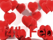 Free 14th February St. Valentines Day Stock Image - 18069611