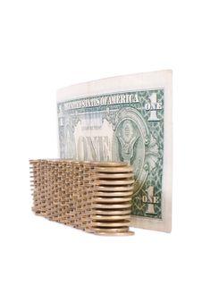Protected Dollar Royalty Free Stock Photos