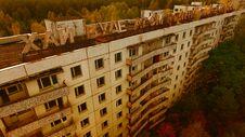 Free Aerial View Of Pripyat, Chernobyl, Beautiful Landscape Stock Photos - 180676233