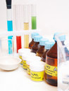 Free Still Life With Chemicals Royalty Free Stock Photos - 18075238
