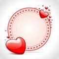 Free Hearts Frame Stock Photo - 18076140