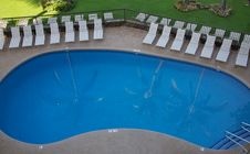 Free Relection In The Pool Royalty Free Stock Image - 18070836