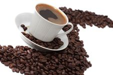 Delicious Cup Of Coffee Stock Images