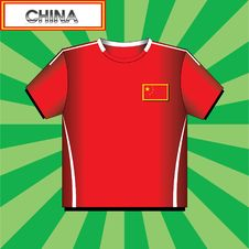 Football (soccer) Shirt Stock Images