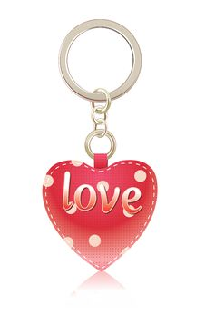 Free Charm-heart Of Red Color Royalty Free Stock Photo - 18073155