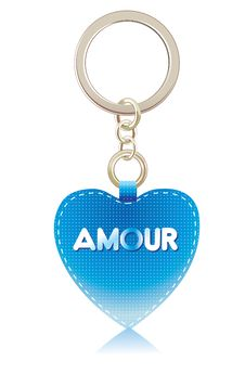 Free Charm-heart Of Blue Color Stock Images - 18073174