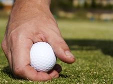 Free Teeing Off Stock Photography - 18073642