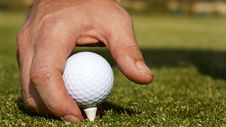 Free Teeing Off Stock Image - 18073681