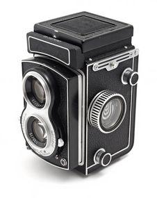 Free Old Photo Camera Royalty Free Stock Photography - 18074147