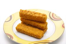 Free Fish Stick Royalty Free Stock Images - 18075279