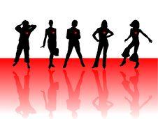 Free Women Hearts Royalty Free Stock Photos - 18075418