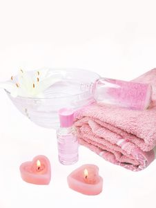 Free Spa Essences Aroma Oils Stock Photos - 18075813