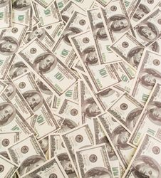 Background Of Banknotes Royalty Free Stock Images