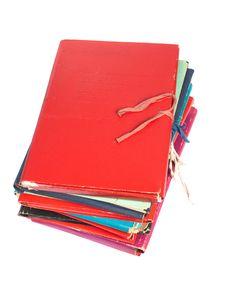 Free Folders Stock Image - 18076011