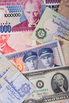 Heap Of Cash Royalty Free Stock Photos