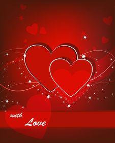 Free Valentine Card Stock Image - 18076551