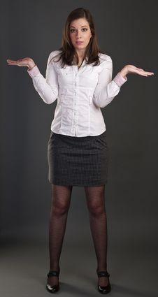 Free Businesswoman Royalty Free Stock Photo - 18077335