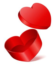 Free Open Gift Heart Stock Image - 18077751