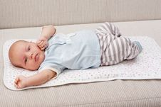Sweet Baby Boy Royalty Free Stock Photography