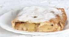 Free Apple Pie (vienna Strudel) Royalty Free Stock Photography - 18078527