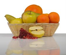 Free Fruit Basket Royalty Free Stock Photography - 18078807