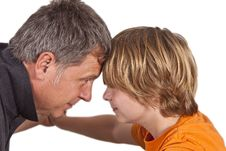 Free Father And Son Hugging Royalty Free Stock Photos - 18078828