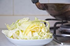 Free Cooking Cabbage Stock Photos - 18079393