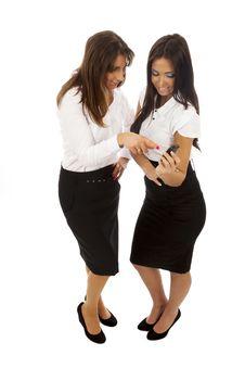 Free Two Business Women Stock Photos - 18079573