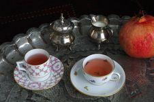 Oriental Tea Stock Photo