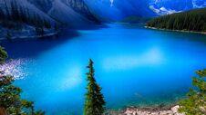 Free Moraine Lake, Valley Of The Ten Peaks, Beautiful Landscape, Banff National Park, Alberta, Canada Royalty Free Stock Photo - 180790285