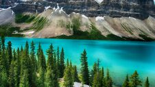 Moraine Lake, Valley Of The Ten Peaks, Beautiful Landscape, Alberta, Canada, Banff National Park Royalty Free Stock Photography