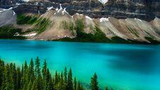Moraine Lake, Banff National Park, Valley Of The Ten Peaks, Alberta, Canada, Beautiful Landscape Royalty Free Stock Photos