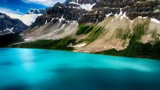Moraine Lake, Banff National Park, Valley Of The Ten Peaks, Beautiful Landscape, Alberta, Canada Stock Image
