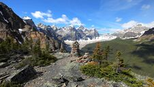 Free Valley Of The Ten Peaks, Moraine Lake, Banff National Park, Alberta, Canada, Beautiful Landscape Royalty Free Stock Image - 180790306