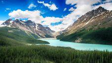 Moraine Lake, Banff National Park, Alberta, Canada, Beautiful Landscape, Valley Of The Ten Peaks Royalty Free Stock Photos