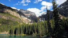 Moraine Lake, Valley Of The Ten Peaks, Beautiful Landscape, Alberta, Canada, Banff National Park Royalty Free Stock Photos