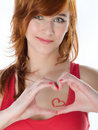 Free Beautiful Woman With Red Hair Royalty Free Stock Photos - 18084408