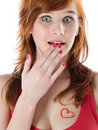 Free Beautiful Woman With Red Hair Royalty Free Stock Image - 18084446