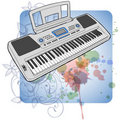 Free Electronic Musical Midi Keyboard - Synth Stock Photos - 18087293