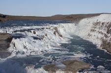 Free Gullfoss Waterfall Royalty Free Stock Photos - 18080888