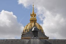 Free Paris S Dome Des Invalides Stock Images - 18081134