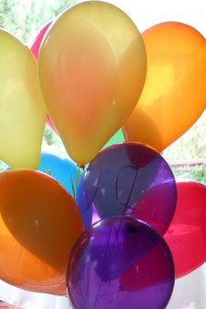 Free Colorful Balloons Stock Images - 18081394