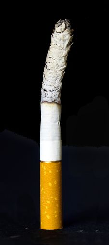 Cigarette Isolated Stock Photography