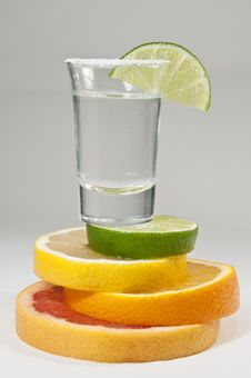 Free Tequila Citrus Royalty Free Stock Images - 18083629