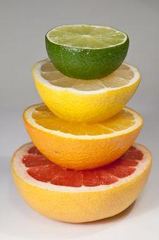 Free Citrus Pyramid Stock Image - 18083721